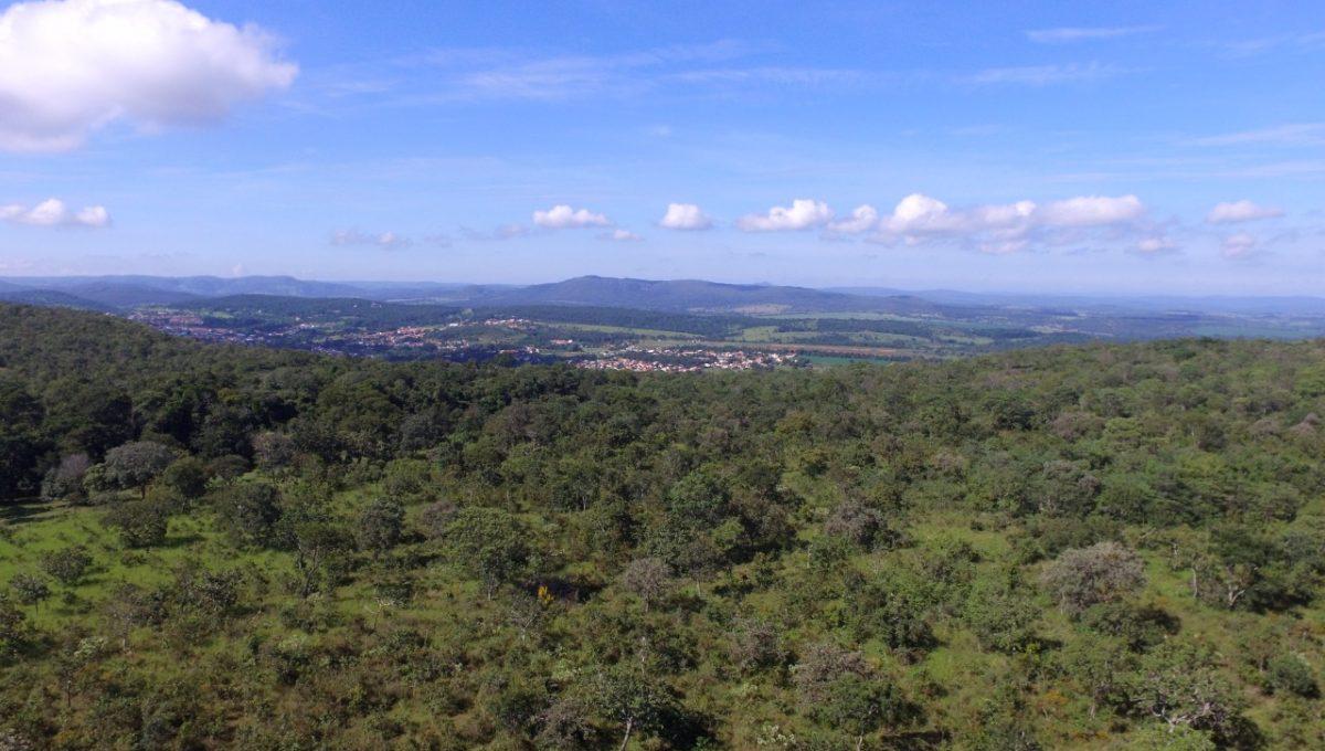 Vista Aérea Imobiliária Pirenópolis