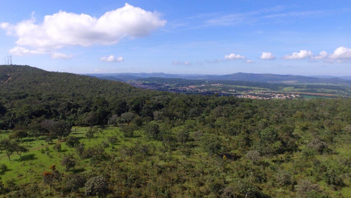 Vista Aérea Terreno Pirenópolis