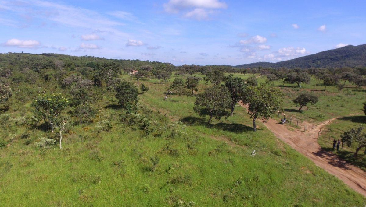 Vista Aerea Pirenópolis